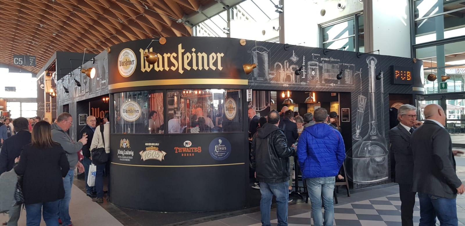 Warsteiner Italia lancia il suo Concept Pub!