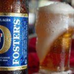 Un sorso di Australia: Foster's!
