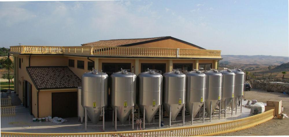Semedorato, l'inaspettato birrificio industriale a Sommatino