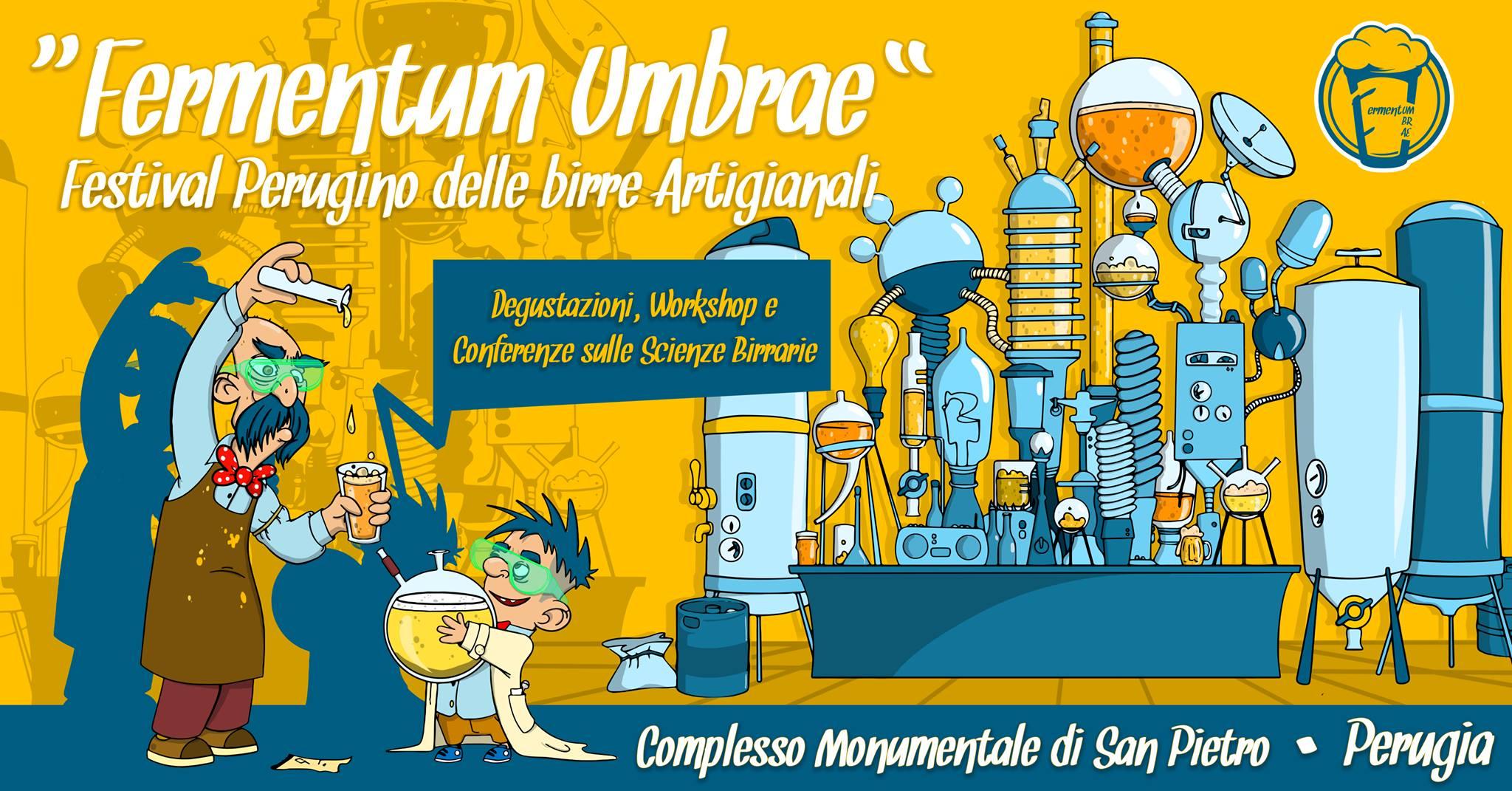 Dal 3 al 5 Maggio Fermentum Umbrae vi aspetta a Perugia!