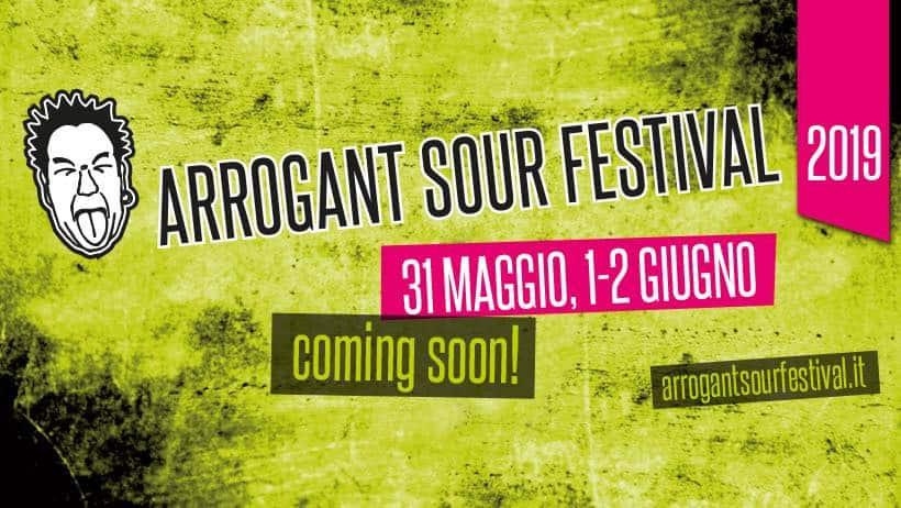 Arrogant Sour Festival: si alza il sipario!