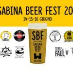 Torna il Sabina Beer Fest!