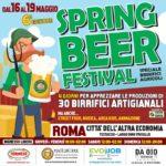 La primavera a Roma si festeggia con la birra