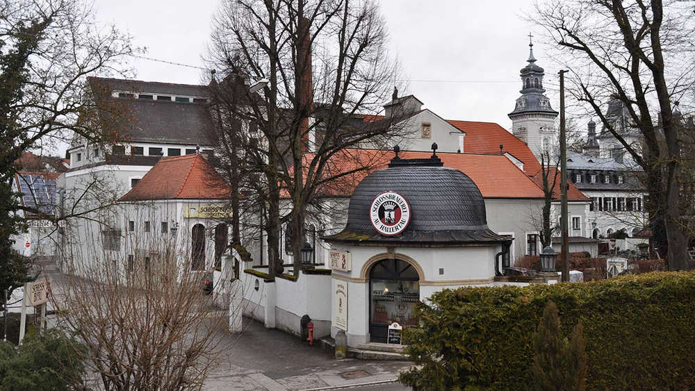 Dalla Baviera : Schlossbrauerei Au