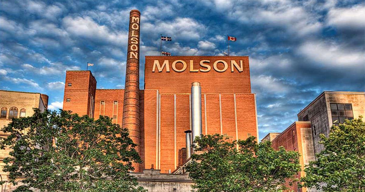 Dal Canada: Molson Brewery