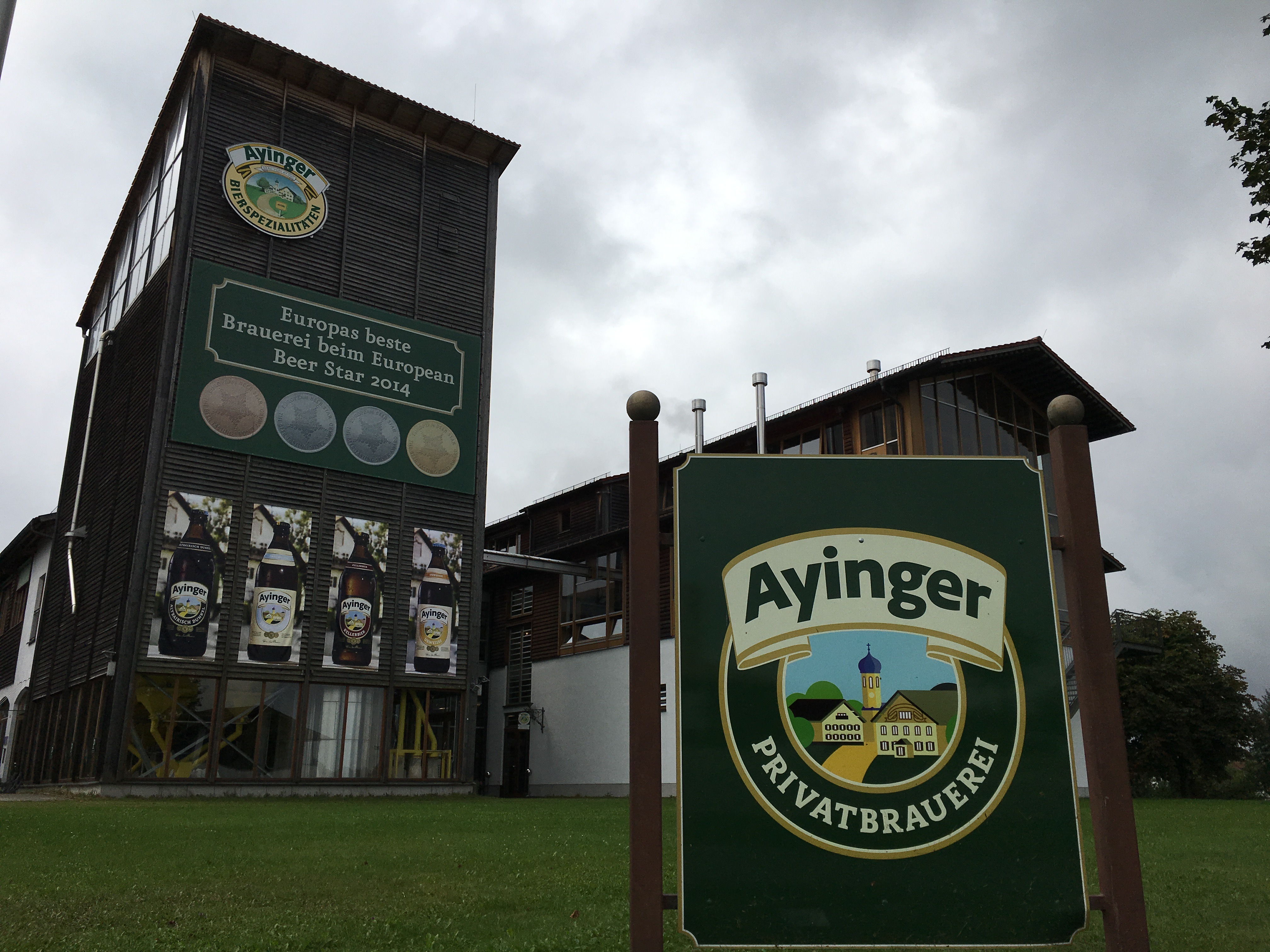 Dalla Germania: Ayinger Privatbrauerei