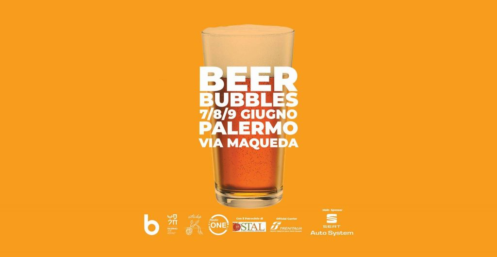 Beer Bubbles vi aspetta nel WE a Palermo!