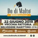 Do di Malto Beer Festival: oggi a Belvedere Marittimo!