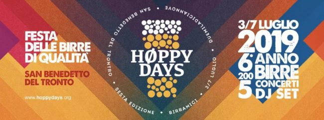 Høppy Days, festa delle birre di qualità!