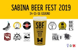 Nel weekend a Nazzano torna il Sabina Beer Fest!