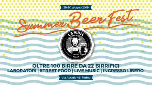 A Torino la prima del Summer Beer Fest al Lambìc