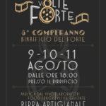 Da questa sera, 3 giorni di festa per il compleanno del Birrificio del Forte!