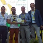 Oscar Green Coldiretti al Birrificio contadino Cascina Motta: l'unico in Italia a produrre e trasformare in azienda tutte le materie prime dal campo alla bottiglia!