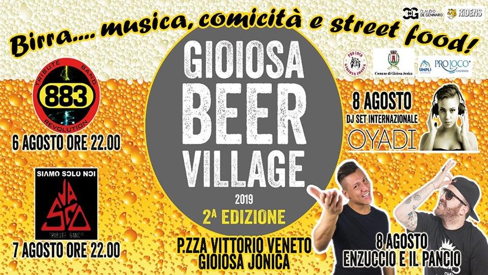 """Nel fine settimana la 2° Edizione del """"Gioiosa Beer Village""""!"""