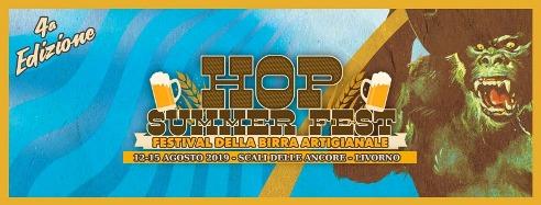 Ferragosto a Livorno è Hop Summer Fest: quattro giorni per gustare birra artigianale da tutta Italia