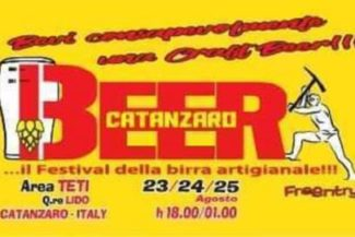 """Tre giorni di fiumi di birra e non soltanto al """"Beer Catanzaro"""""""