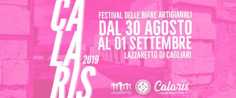 Nel WE a Cagliari il Calaris Beer Festival 2019