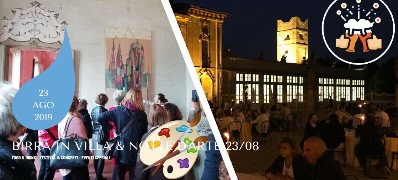 Birra in Villa: 4° edizione, il venerdì sera della piccola Versailles