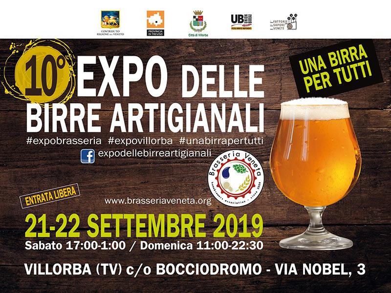 Buona birra e cultura all'Expo delle Birre Artigianali 2019!