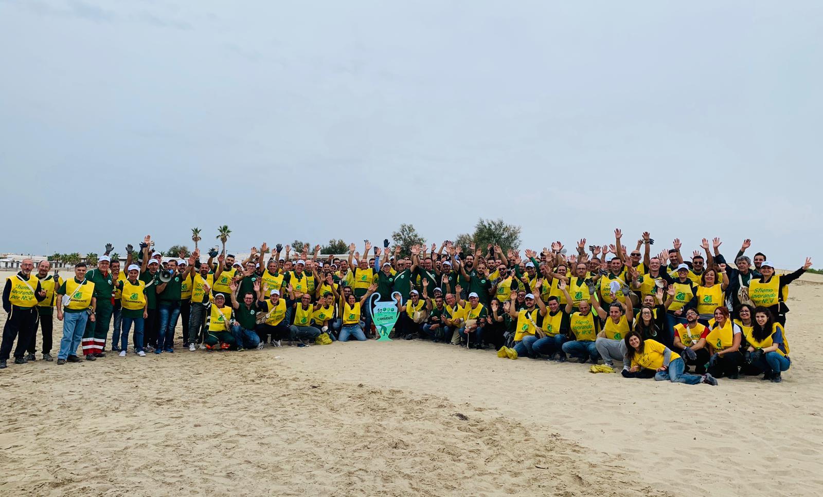 """La seconda edizione di """"10.000 per l'Ambiente"""" ha fatto tappa al Birrificio HEINEKEN di Massafra"""