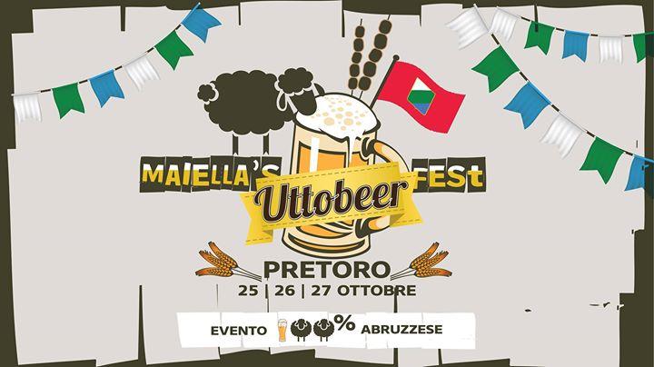 Da stasera Maiella's UttoBEER Fest Abruzzese!