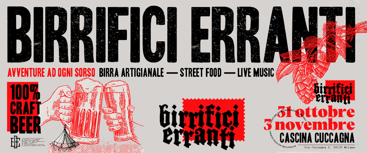 Birrifici Erranti in Cascina Cuccagna!