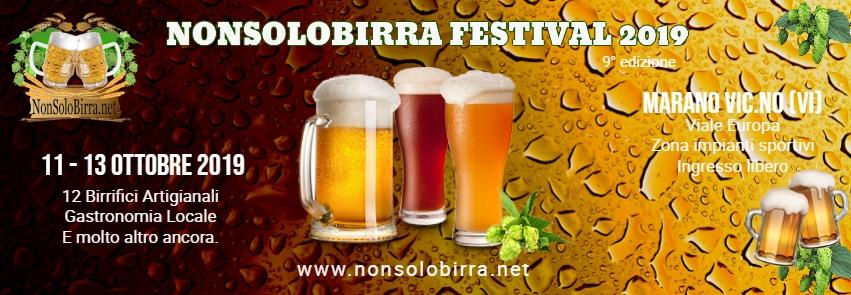 Il Nonsolobirra Festival torna a Marano Vicentino dall'11 all'13 ottobre!