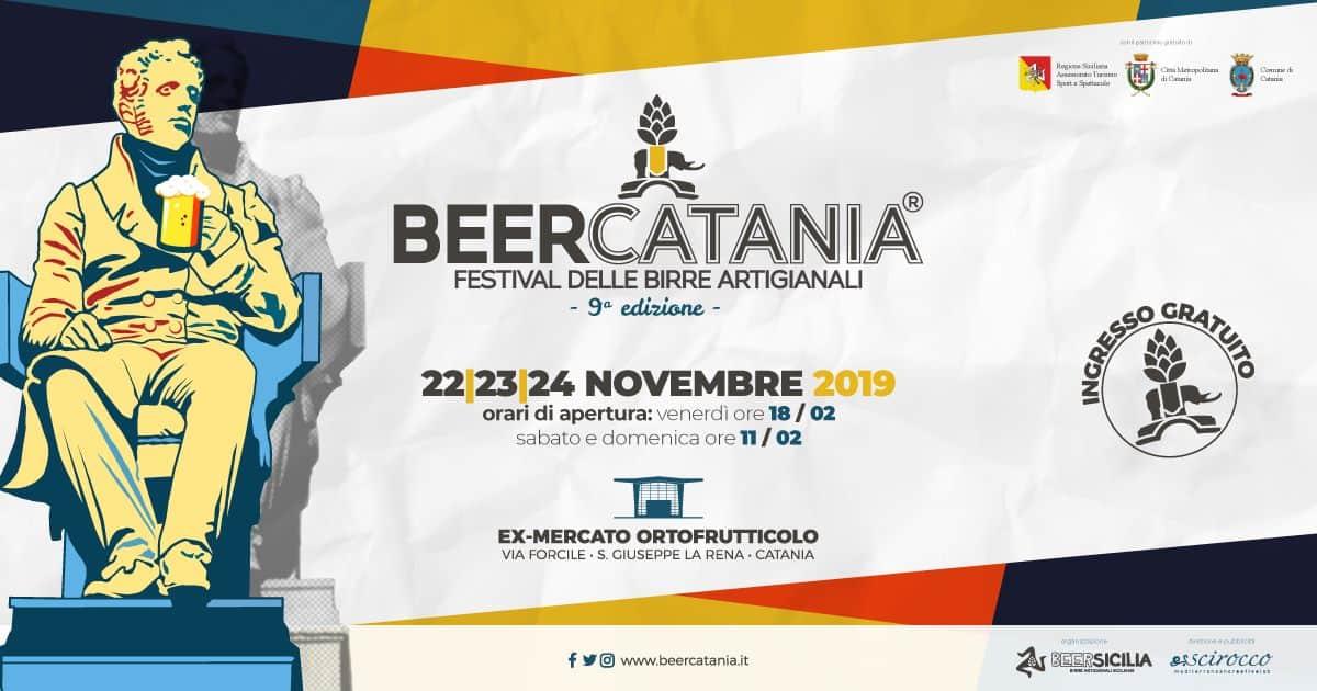 Nel weekend torna BeerCatania