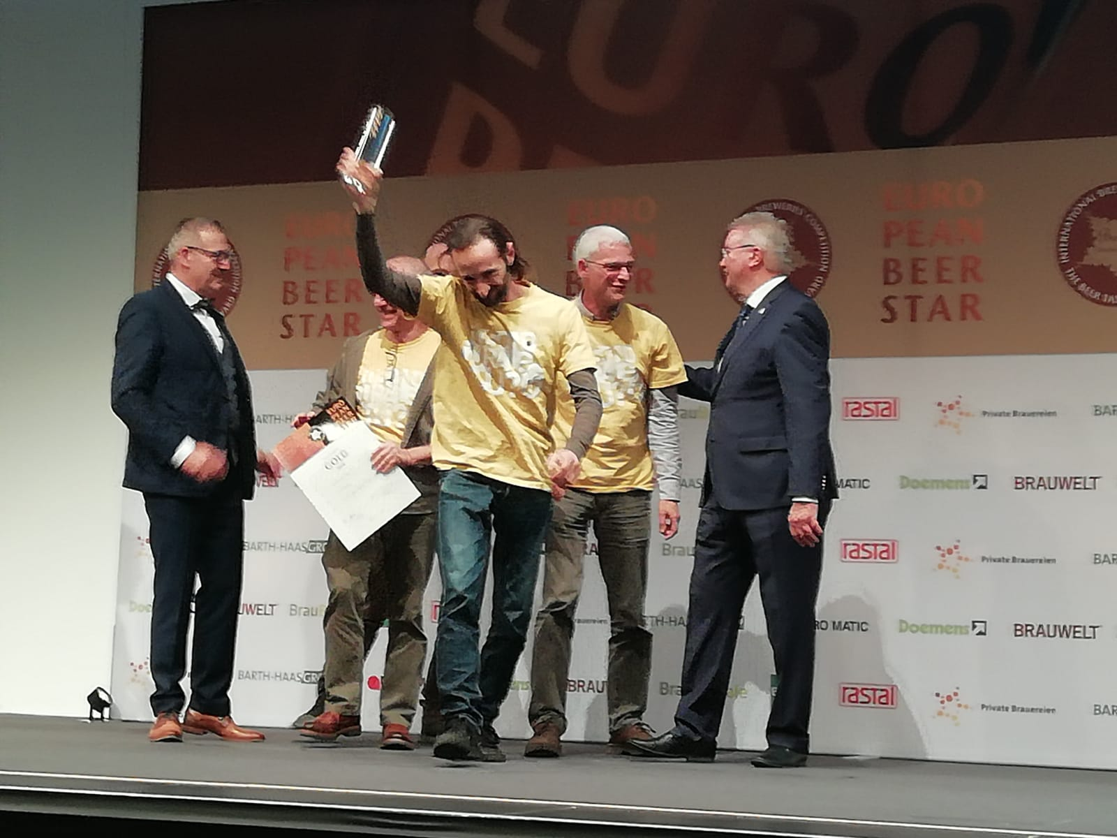 Simphonia del Birrificio Rurale premiata all'European Beer Star!