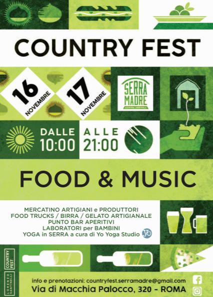 Nel WE torna Country Fest per il compleanno di Serra Madre!