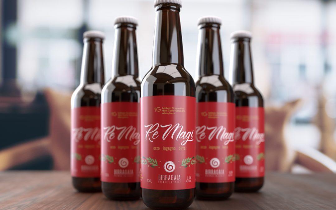 Re Magi, l'epifania porta la birra degli studenti dell'Istituto alberghiero Don Gnocchi