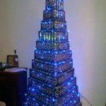 Idee per creare Alberi di Natale birrari