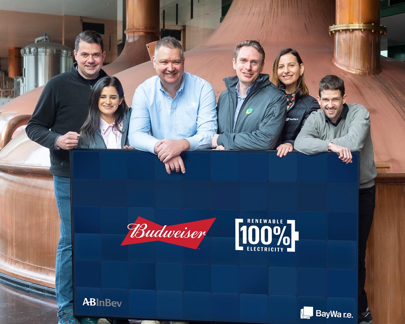 AB InBev produrrà birra utilizzando energia green al 100%