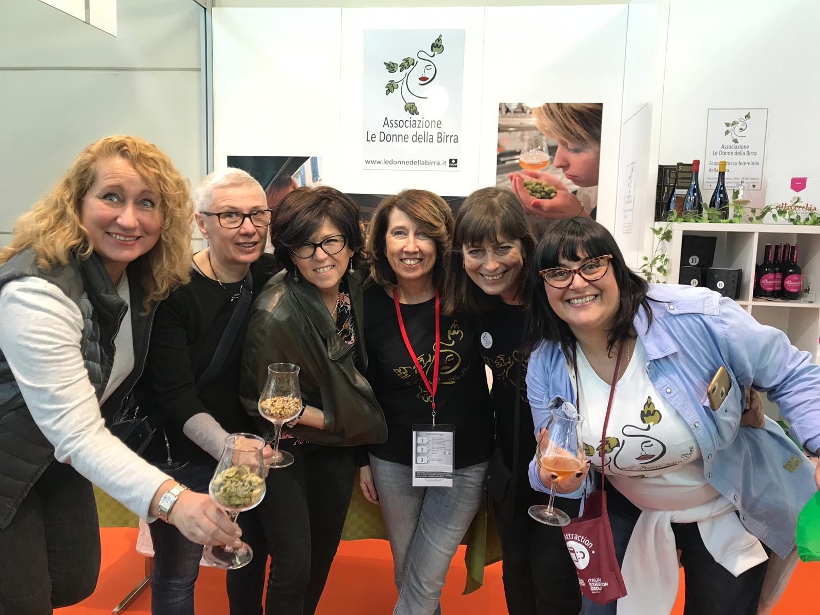 Le Donne della Birra presenti ai grandi eventi italiani!