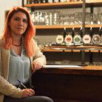 """Sara Pezzoni, la portavoce della Società agricola """"Birra del Parco"""""""