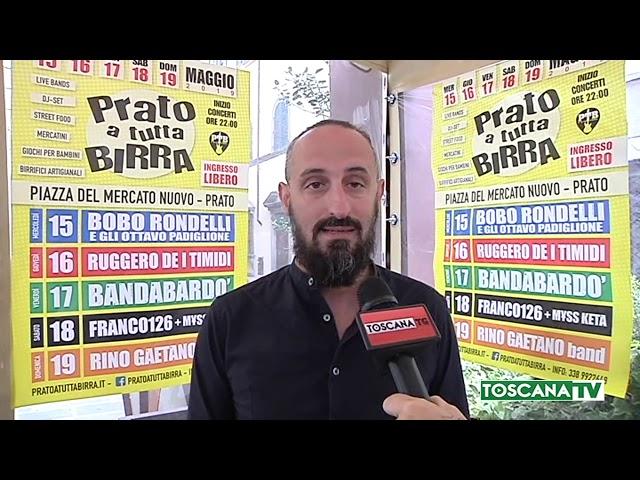 """Annullata l'edizione del decennale di """"Prato a tutta birra"""""""