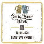 """Distanti ma uniti"": dal 20 al 26 aprile la SocialBeer Week di Mastri Birrai Umbri"