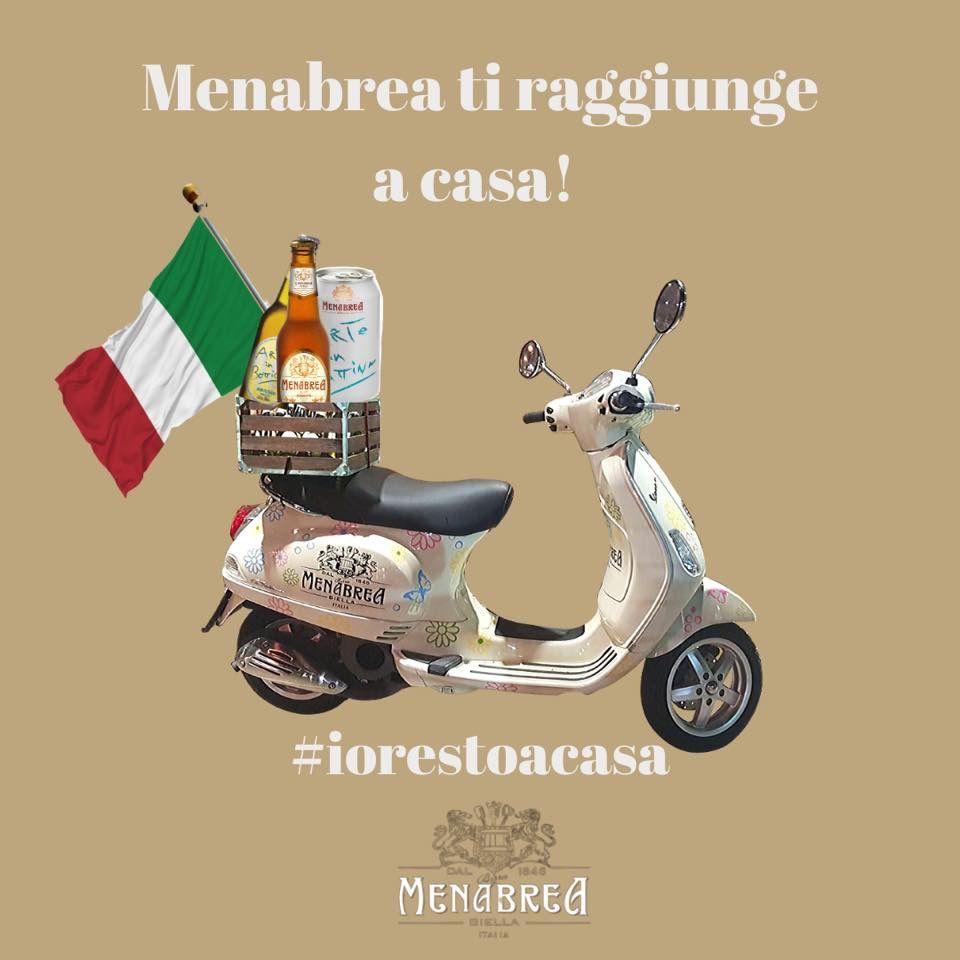 Menabrea, il più antico birrificio italiano, porta la birra a casa tua!