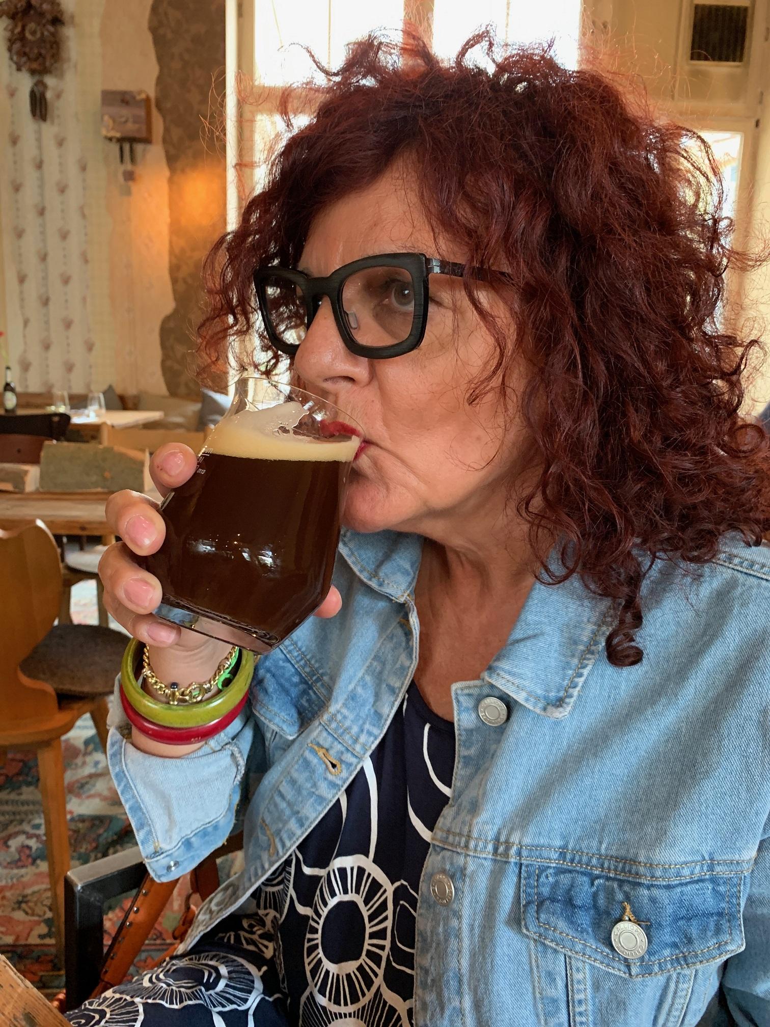 """Daniela Riccardi, coautrice di """"Birre in cucina – Ricettario pratico di gastronomia brassicola"""""""