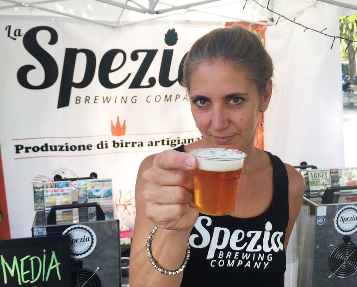 Sara Bregoli: from Stockholm to La Spezia with love (for craft beer)