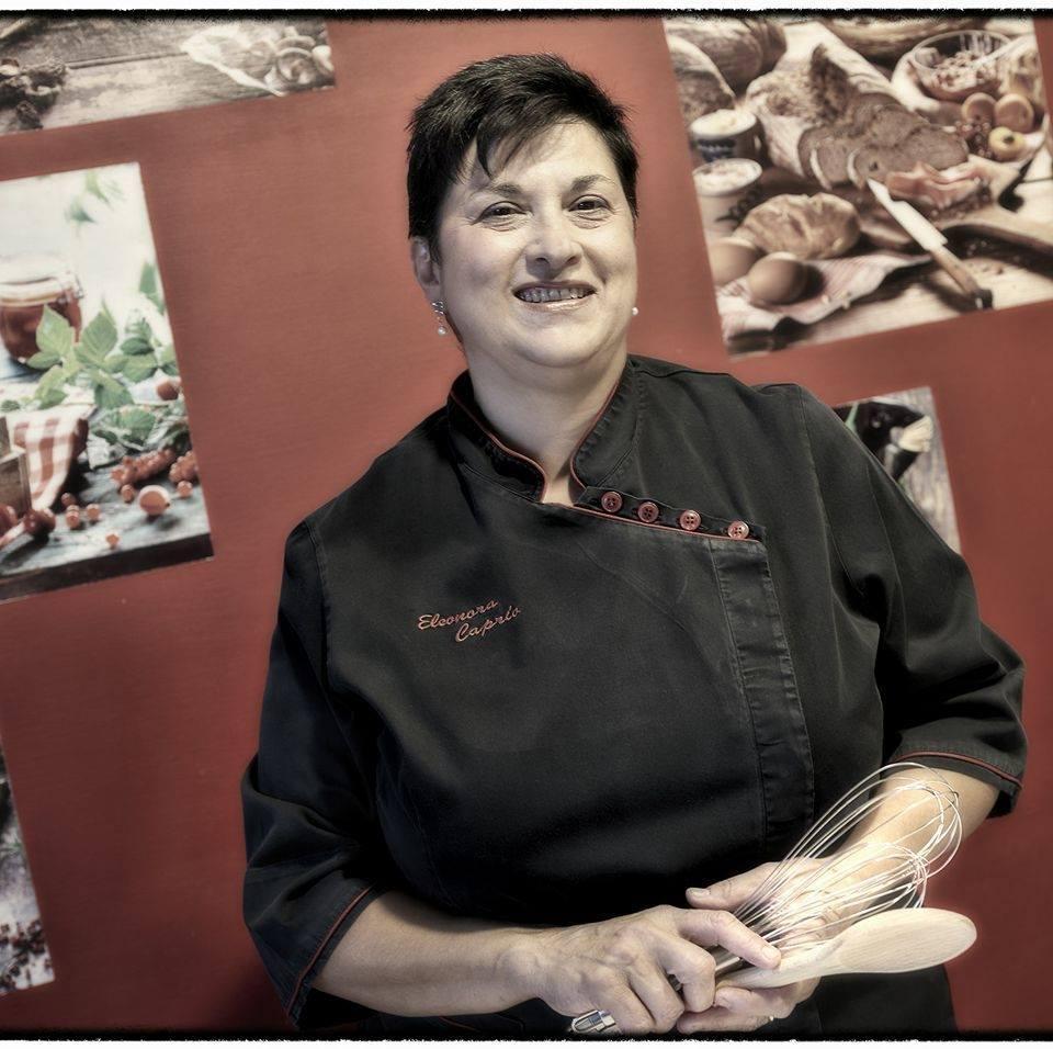 """Eleonora Caprio, la maestra di cucina di """"Gusti Tuscia"""" dove la birra dà carattere ai suoi piatti"""