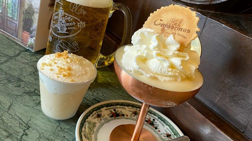 """Napoli, ecco il gelato """"Gambrinus"""" al gusto di birra!"""