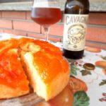 Torta di albicocche caramellate alla birra Cavagna®