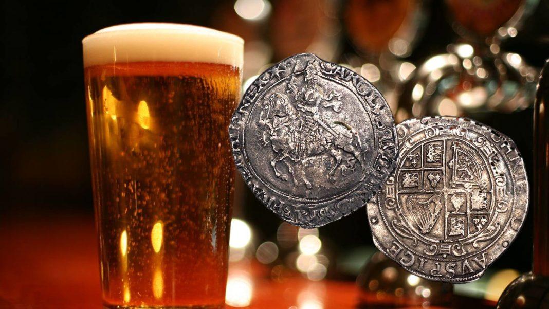 Ritrovato un tesoro numismatico nel giardino del pub The Lindsey Rose a Lindsey!