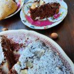 Torta d'avena, cioccolato, frutta e stout