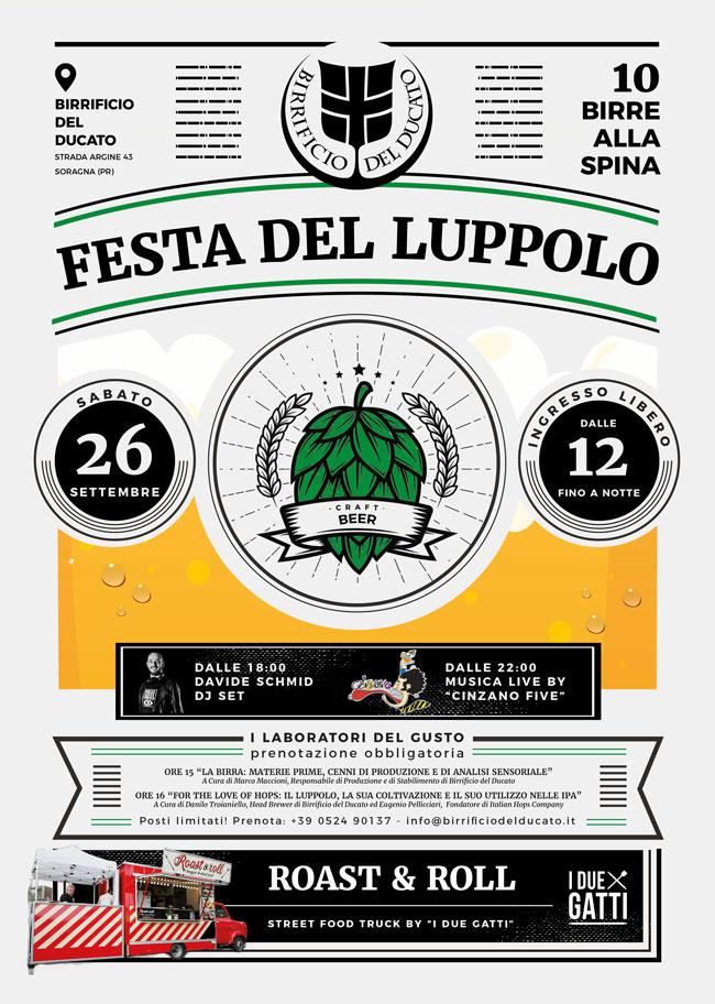 Festa del Luppolo in Birrificio del Ducato!