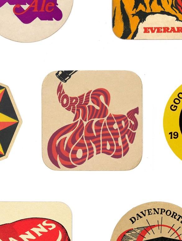 Tesori d'archivio: un account Instagram dedicato ai sottobicchieri da birra