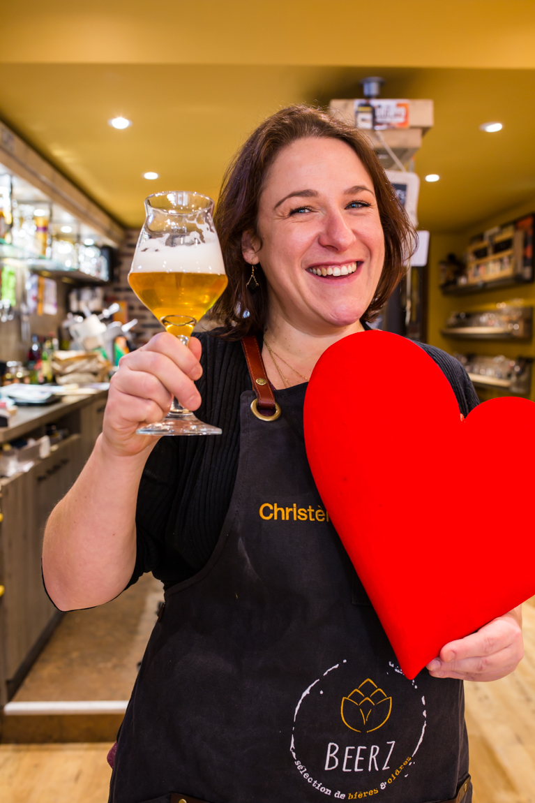 A BeerZ, Christèle Zamprogno riporta la birra in tavola