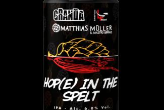 Hop(e) in the Spelt: inedita collaborazione tra Birrificio della Granda, Matthias Müller e Birrificio 4 Mori