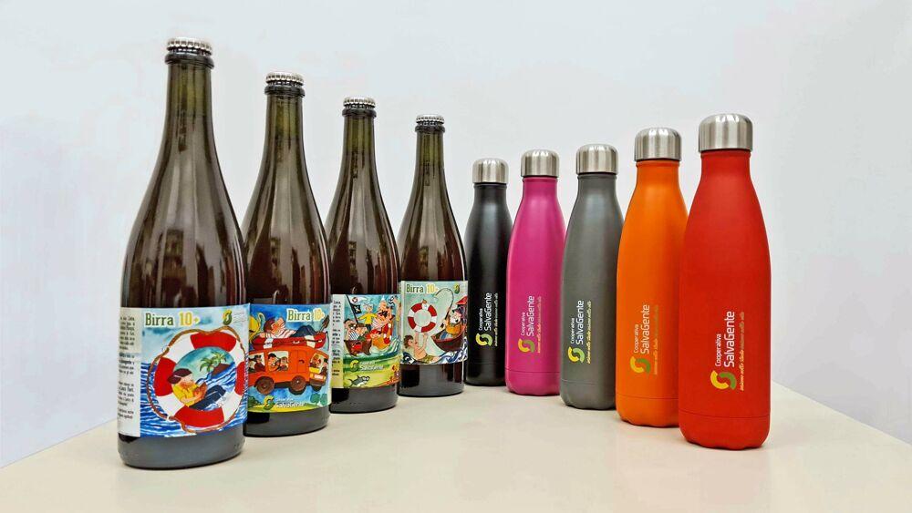 """Per Natale la birra """"10+"""": il regalo solidale per aiutare la cooperativa sociale"""